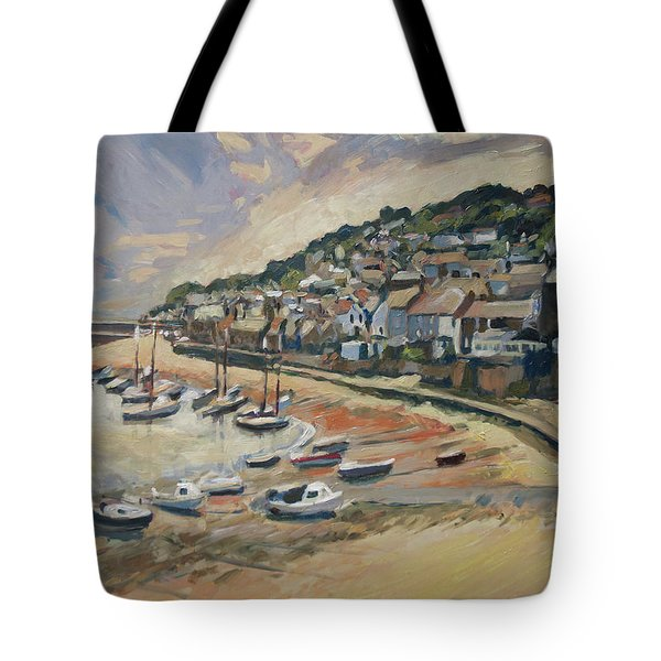 Sunset Mousehole Tote Bag