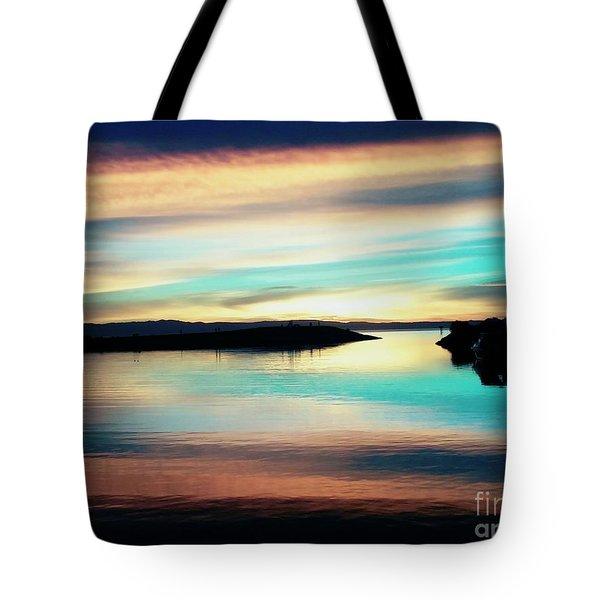 Sunset Noctune Tote Bag