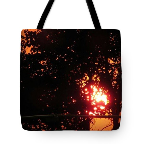 Sunset. Tote Bag