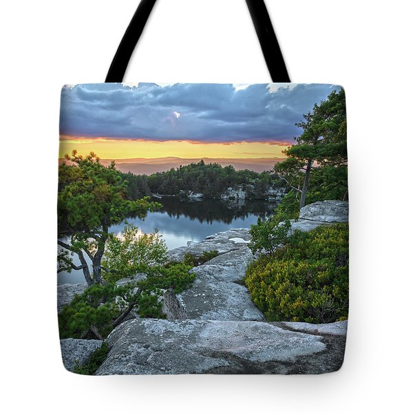 Sunset Of Contentment Tote Bag