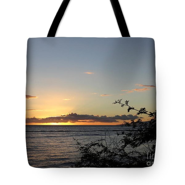 Sunset Off Lipoa Tote Bag