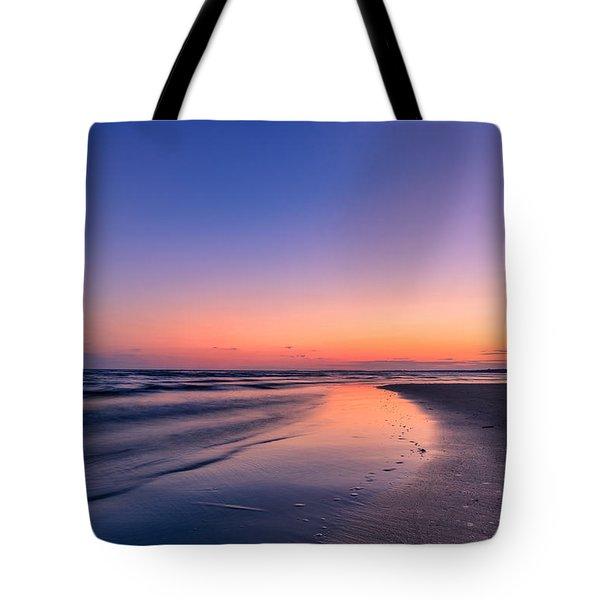 Sunset, Old Saybrook, Ct Tote Bag