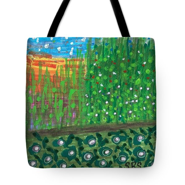 Sunset On A Florida Canal Tote Bag