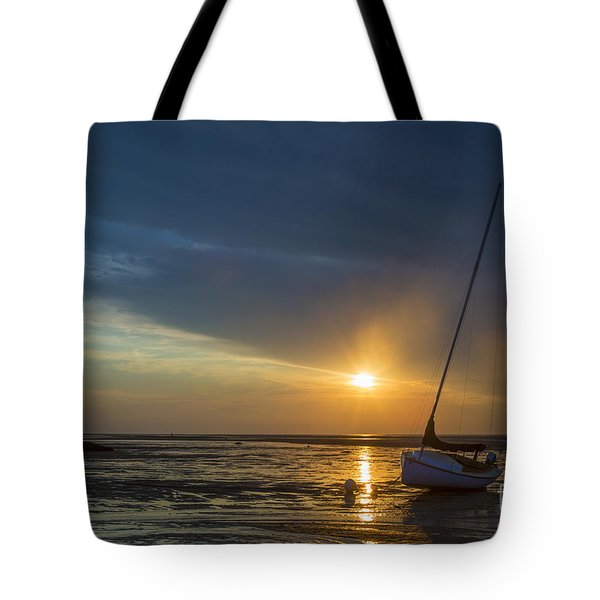 Sunset On Cape Cod Tote Bag