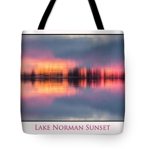 Tote Bag featuring the photograph Sunset On Lake Norman by Ronald Santini