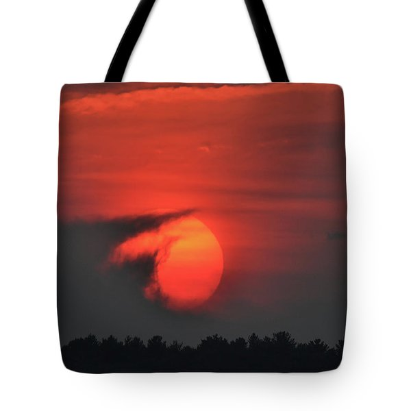 Sunset On Plum Island Tote Bag