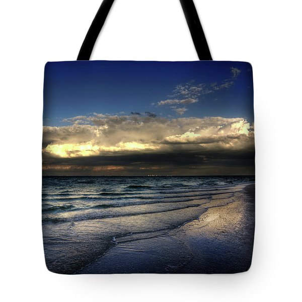 Sunset On Sanibel Tote Bag
