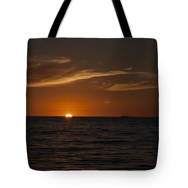 Sunset On Sea Of Cortez Tote Bag