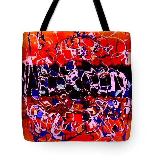 Sunset On Seaweed Beach Tote Bag