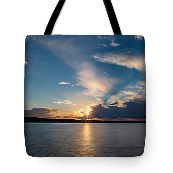 Sunset On The Baltic Sea Tote Bag