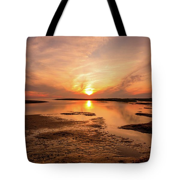 Sunset On The Cape Tote Bag