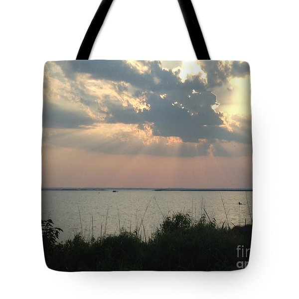 Sunset On The Outer Banks Tote Bag