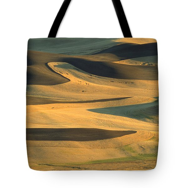 Sunset On The Palouse Tote Bag