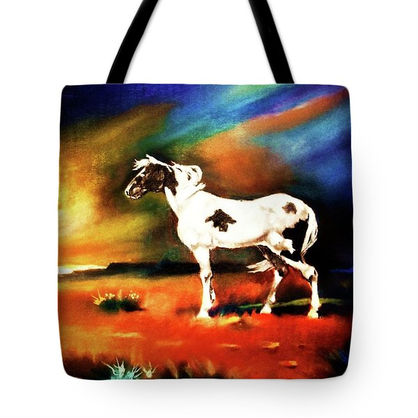 Sunset On The Plains Tote Bag