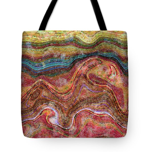 Sunset On The R. G. Tote Bag by Matt Lindley
