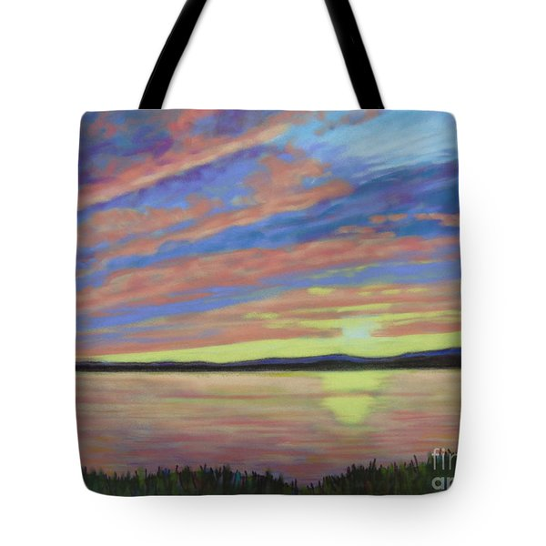 Sunset On The South Shore  Tote Bag
