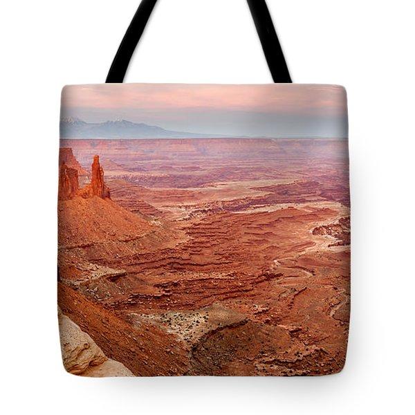 Sunset On The Washerwoman Tote Bag