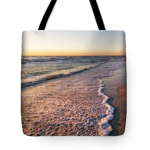 Tote Bag featuring the photograph Sunset On Tigertail by Lars Lentz