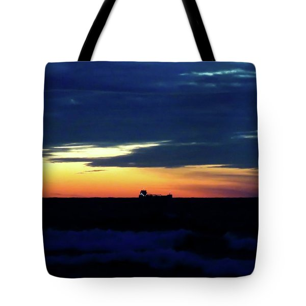 Sunset On Winter Solstice Eve Tote Bag