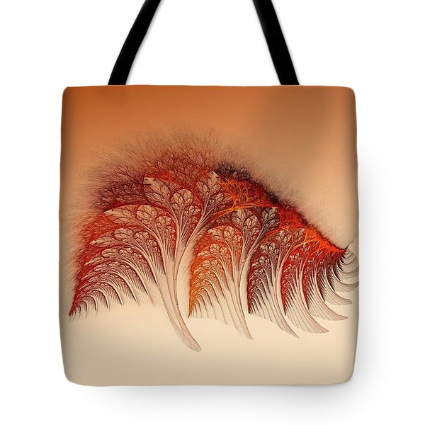 Sunset On Yessland Tote Bag