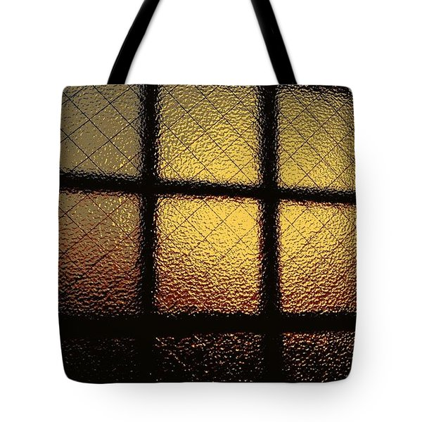 Sunset Orange Tote Bag