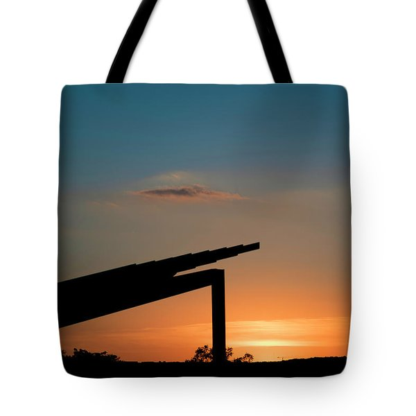 Sunset Over Austin City Limits Festival Week One 2017 Tote Bag