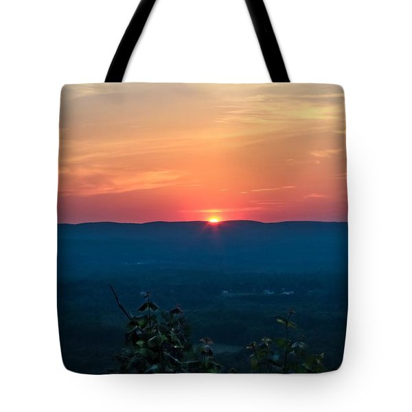 Sunset Over Easthampton Tote Bag