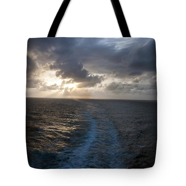 Tote Bag featuring the photograph Sunset Over Fort Lauderdale by Allen Carroll