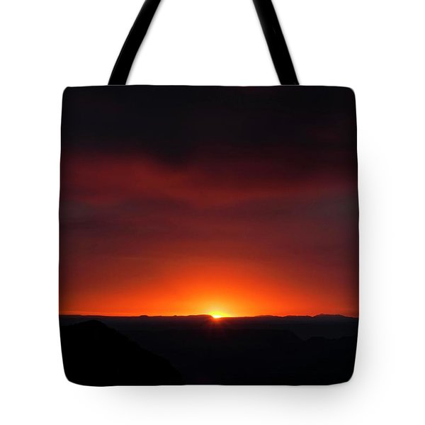 Sunset Over Grand Canyon Tote Bag
