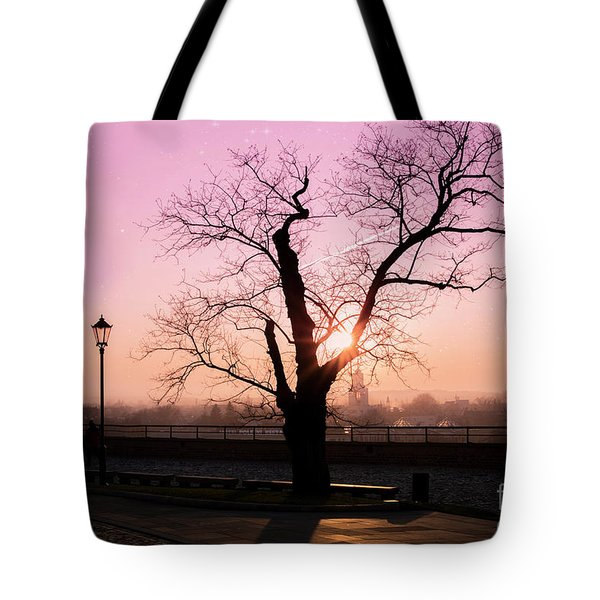 Tote Bag featuring the photograph Sunset Over Krakow by Juli Scalzi