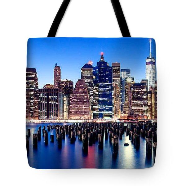 Magic Manhattan Tote Bag