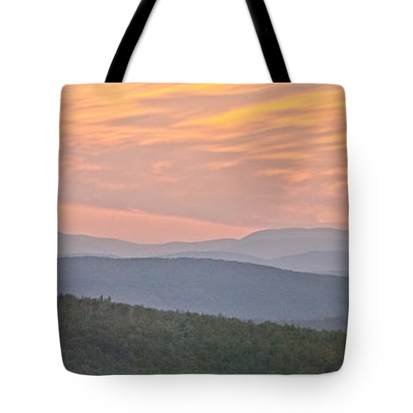 Sunset Over Mooselookmeguntic Tote Bag