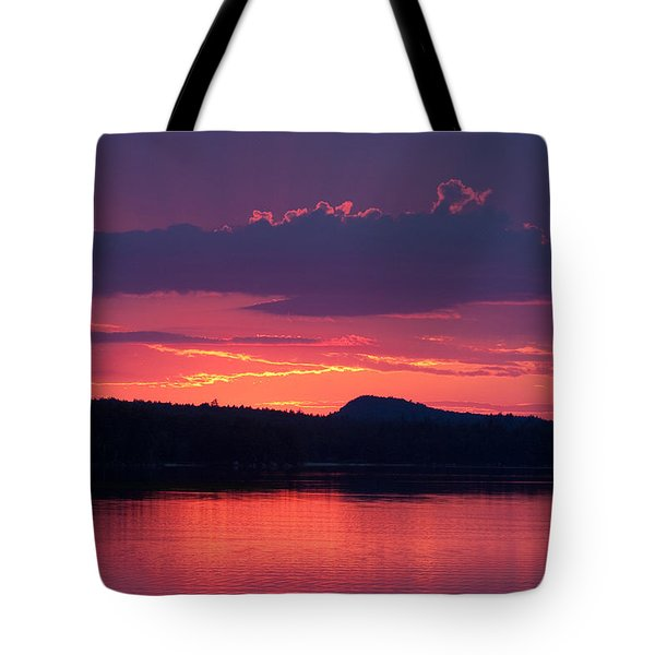 Sunset Over Sabao Tote Bag