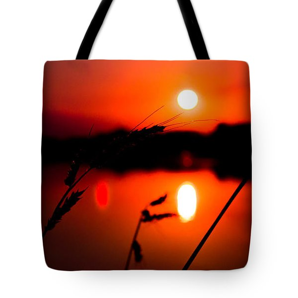 Sunset Over South Lake Tote Bag