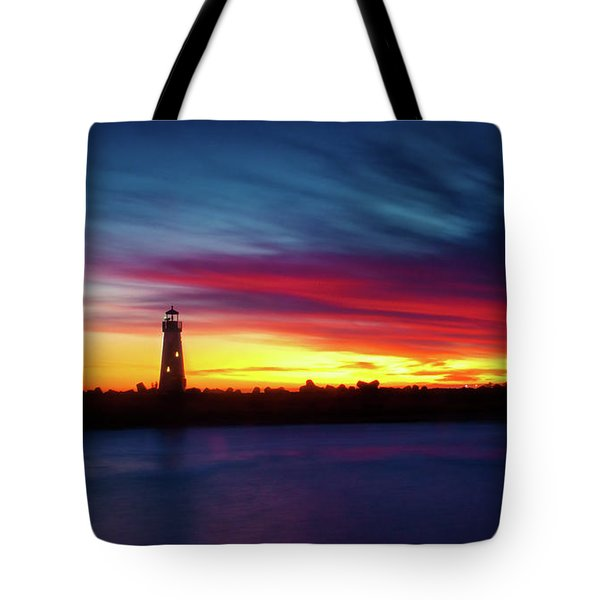 Sunset Over Walton Light Tote Bag
