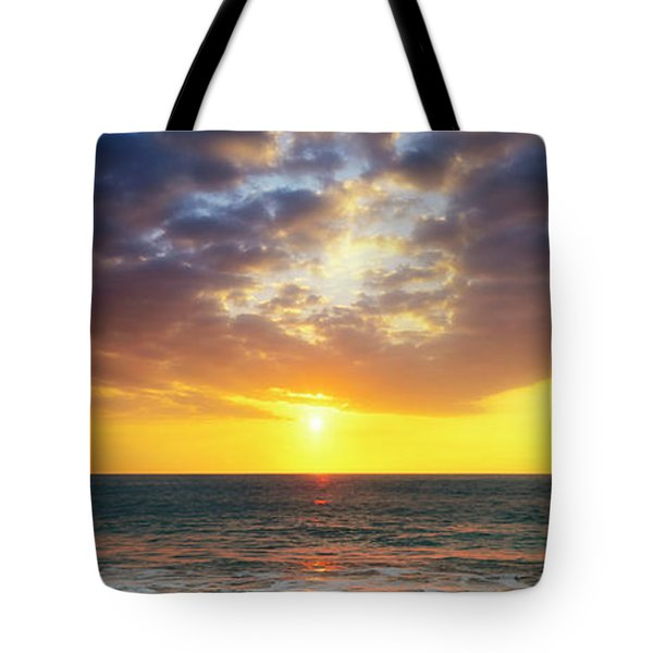 Sunset Panorama Tote Bag