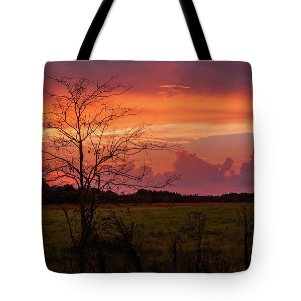 Sunset Pasture Tote Bag