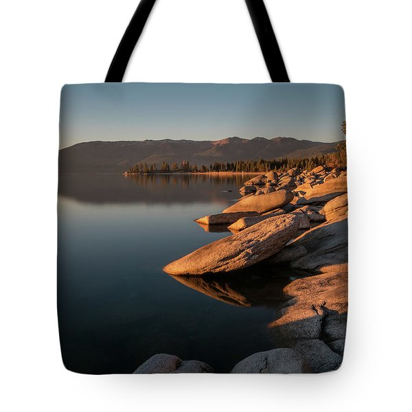 Sunset Peace Tote Bag