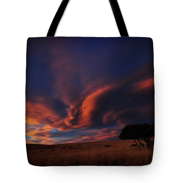 Sunset Plains Tote Bag