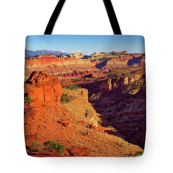 Tote Bag featuring the photograph Sunset Point View by John Hight
