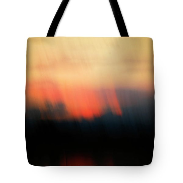 Tote Bag featuring the photograph Sunset Raining Down by Marilyn Hunt