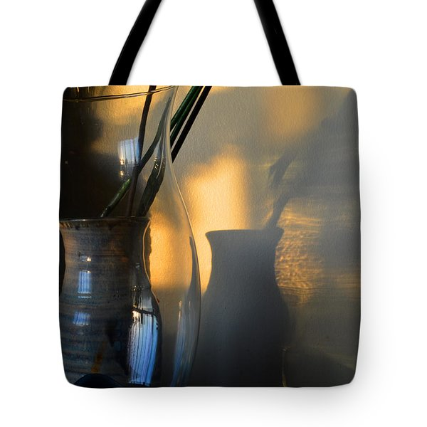 Sunset Reflection 3  Tote Bag by Lyle Crump