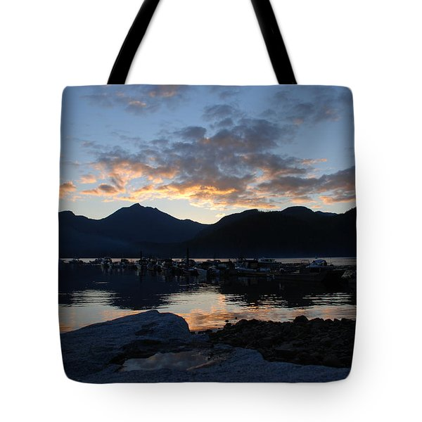 Sunset Reflections #1 Tote Bag