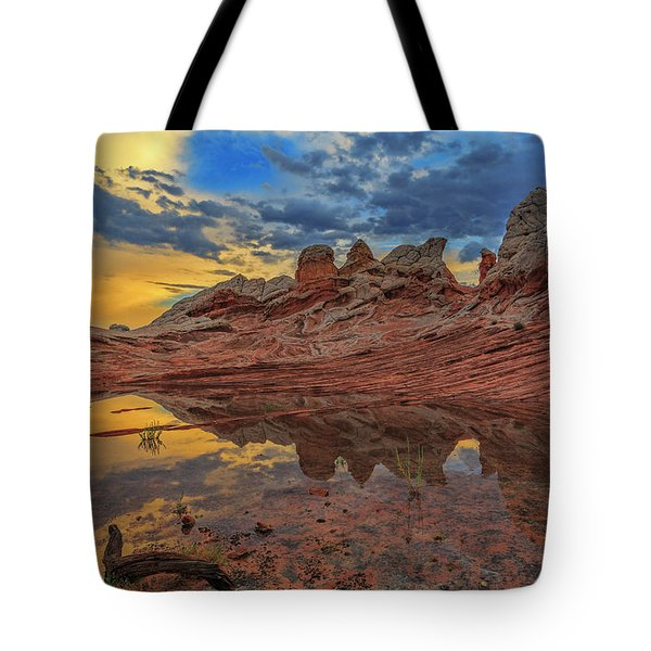 Sunset Reflections Tote Bag