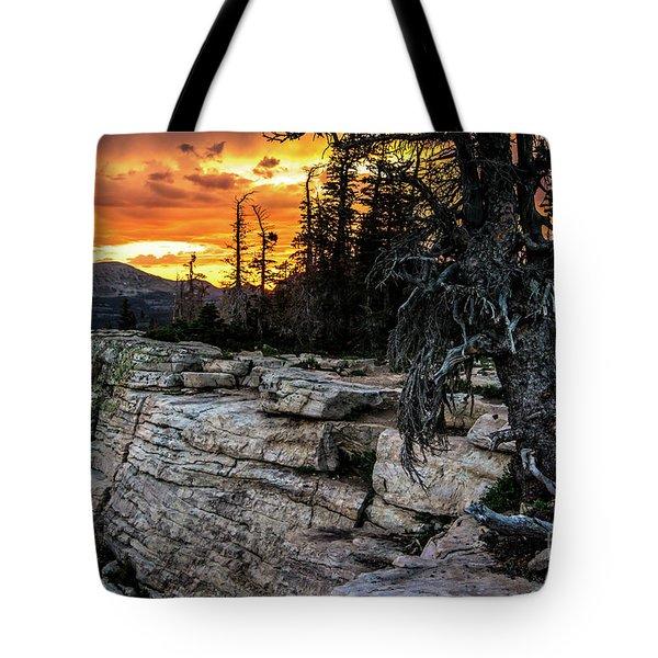 Sunset Ridge - Uinta Mountain Range - Utah Tote Bag