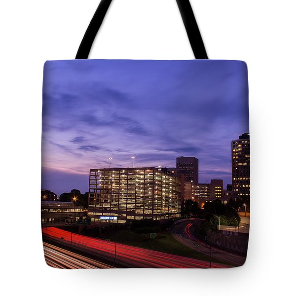 Sunset Rush Tote Bag