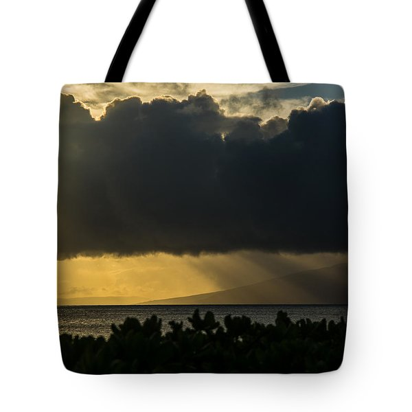 Tote Bag featuring the photograph Sunset Sail by Colleen Coccia