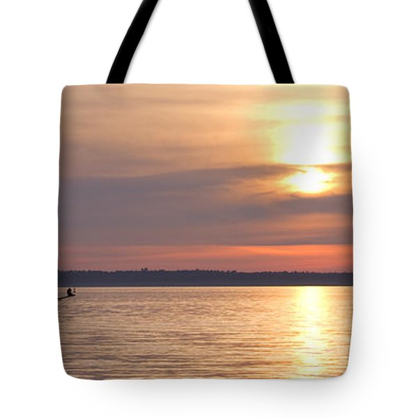 Sunset Sail Tote Bag by Idaho Scenic Images Linda Lantzy