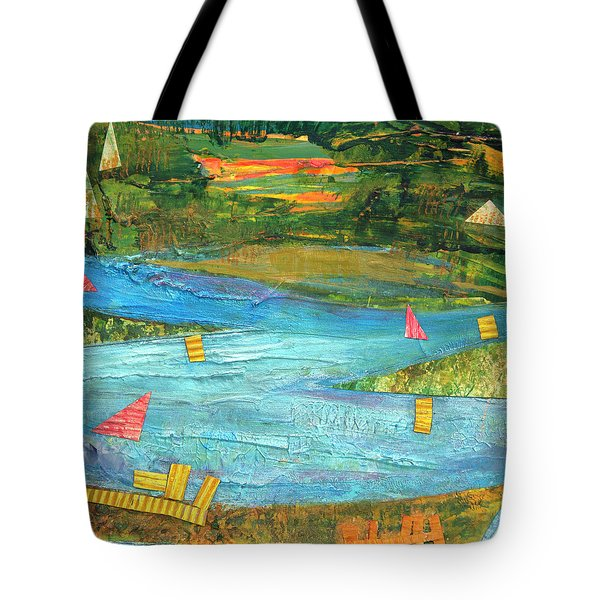 Sunset Sails 2 Tote Bag