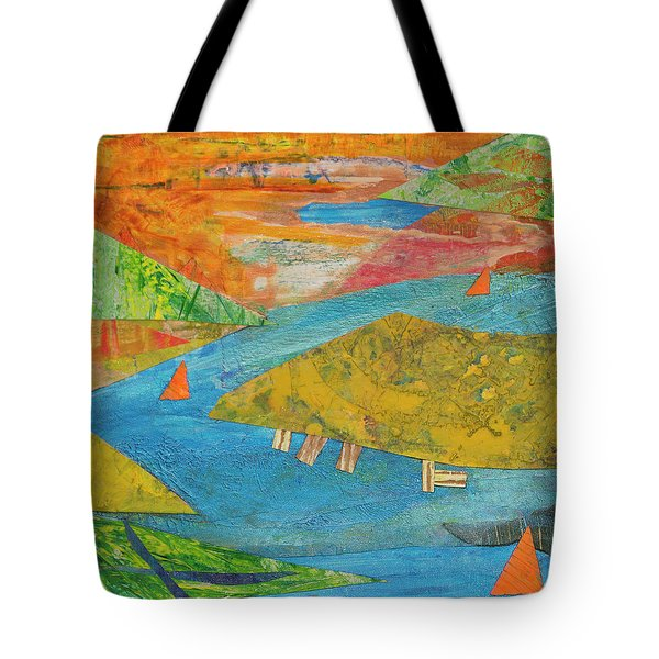 Sunset Sails 1 Tote Bag